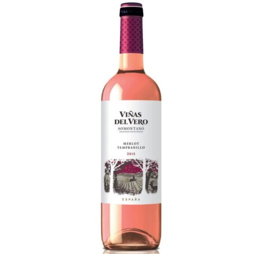 viñas del vero rosado merlot tempranillo